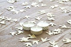 Washi Tape Tea Lights / Easiest DIY ever!