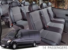 Sal's offers #luxury shuttle #transportation #Mercedes Spirnter Call Us Toll Free 1-877-524-2775