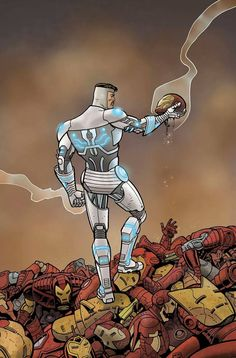Superior Iron Man by Ty Templeton