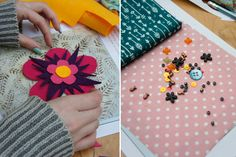 A lovely quilt-making hen party in London