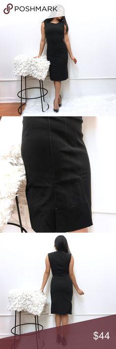 """Prada dress sz 40 fits like 2 in black Prada dress. Sz 40. Chest flat across 15"""" length 38"""" Prada Dresses"""