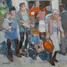 Scottish Artist Catriona CAMPBELL-Marmalade Oranges
