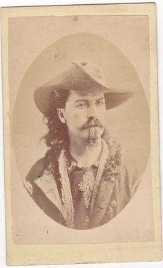 RARE CDV Photo Young William F Cody Buffalo Bill Wild West Show Cowboy CIR 1875   eBay