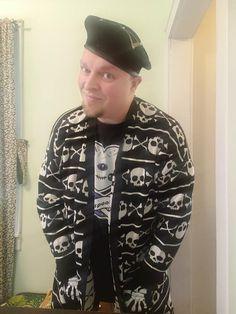 shirt by sugarhai, model credit Michael Charles Turner Charles Turner, Creepy Cute, Kawaii Clothes, Cute Images, Pastel Goth, Grunge Fashion, Fashion Photo, Bomber Jacket, Model