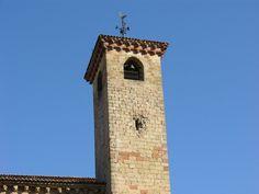 Bullet-ridden cathedral tower Sigenza Guadalajara Spain  #village #bullet-ridden #cathedral #tower #sigenza #guadalajara #spain #photography