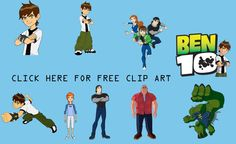 Ben 10 party ideas and free printables