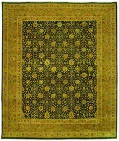 Safavieh Haj Jalili Traditional Indoorarea Rug Green / Gold