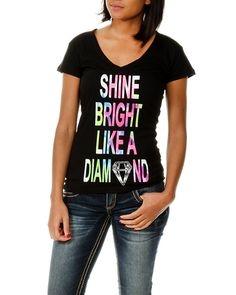 rue21 Shine Bright Like a Diamond tee. $9.99