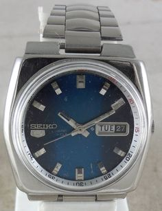Original VINTAGE SEIKO 5 Automatic 21J Japan 6119 Running Watch D&D@3#w2076 #Seiko