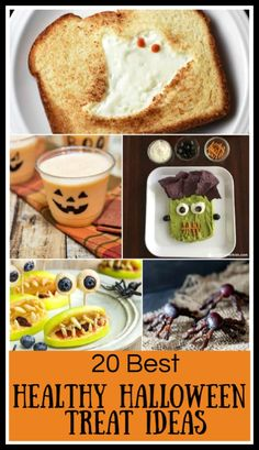 These Healthy Halloween Treats are a festive, fun and delicious way to celebrate the holiday with a healthier spin. Beverages, snacks, desserts, main dishes—choose one or more for your next celebration! #mealplanningmagic #halloween #halloweenrecipe #healthyhalloween #halloweentreats Halloween Drinks Kids, Halloween Breakfast, Healthy Halloween Treats, Halloween Appetizers, Pumpkin Juice, Roast Pumpkin, Easy Drink Recipes, Snack Recipes, Halloween Chocolate