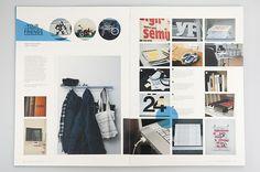 Everyday Magazine by Mikael Fløysand, via Behance