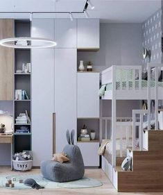 Room inspo at its finest! This incredible space has us completely 🤤 . Tag a mama friend who will be totally 🤤 with us. 📷… Room inspo at its finest! This incredible space has us completely 🤤 . Tag a mama friend who will be totally 🤤 with us. Baby Bedroom, Baby Room Decor, Bedroom Decor, Kids Bedroom Furniture, Kids Bedroom Designs, Kids Room Design, Small Space Interior Design, Interior Design Living Room, Teenage Room