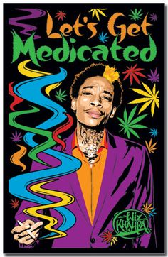 Black Light - Wiz Khalifa Poster I am bro Taylors Gang, Black Light Posters, Frat Coolers, Wiz Khalifa, Smoke Shops, Cool Posters, Music Posters, Famous Legends, Herbal Vaporizer