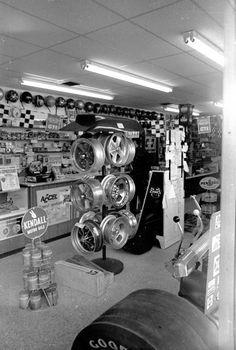 Vintage speedshop