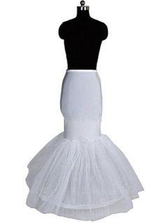 Jupons - $26.99 - Femmes Nylon/Tissu tulle Longueur au sol 1 couche Jupons  http://www.dressfirst.fr/Femmes-Nylon-Tissu-Tulle-Longueur-Au-Sol-1-Couche-Jupons-037004194-g4194