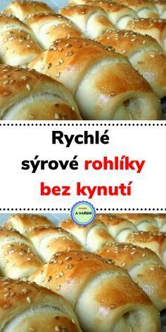 Bread Dough Recipe, Czech Recipes, Hot Dog Buns, Food Videos, Food And Drink, Vegetarian, Menu, Cooking, Straws