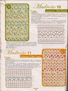 clases de puntos para crochet
