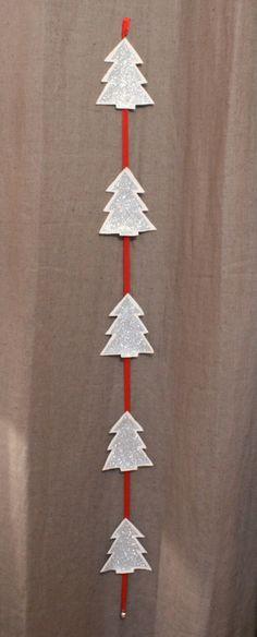Guirlande de Noël - maison - Le Grenier d'HuPa - Fait Maison