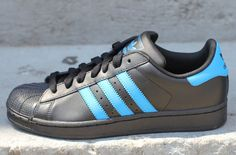 adidas Originals Superstar II | Black / Blue