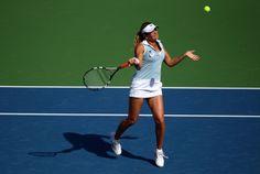 Aleksandra Wozniak - WTA Dubai Duty Free Tennis  Championship - Day Two