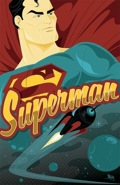 Superman by Mike Mahle