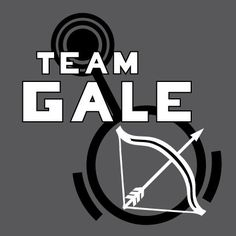 Hunger Games Team Gale TShirt with Bow and Arrow by LHopDesigns