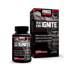Force Factor Test X180 IGNITE 120 Capsules #FORCEFACTOR