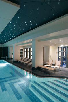 Plafond étoilé piscine