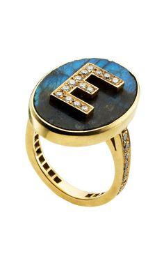 Carolina Bucci signet ring. Someone buy me this ring