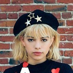 Star Beret #originalLAdesigner #stars #starberet #star #goldstar #goldstars #lastreetwear #black #gold #resist #wwd #blackberet #impeachtrump #notmypresident #hearts #beret #berets #madeinla #beauty #ootd #losangeles #love #lafashion #hat #rebel #gold  Dolls Kill #dollskill Or #ETSY