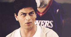 Having unique seduction techniques. | 31 Relatable Shah Rukh Khan GIFs For Everyday Situations