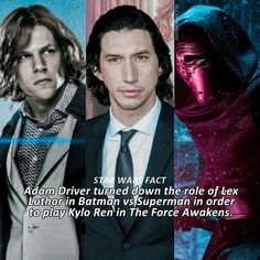 """2,130 Likes, 66 Comments - Star Wars (@ohstarwars) on Instagram: """"Adam Driver Fact — Honestly THANK YOU GOD! He's perfect as Kylo and certainly one of the best new…"""""""