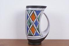 Vase Pitcher from the danish pottery Michael by Danishartpottery Pattern Making, Danish, Buy And Sell, Pottery, Vase, Mugs, Artist, Handmade, Stuff To Buy