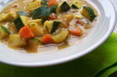 Tavaszi megújuláshoz – könnyű és színes főzelék Thai Red Curry, Ethnic Recipes, Food, Essen, Meals, Yemek, Eten