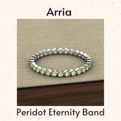 Eternity Bands, Peridot, Jewelry Stores, Thursday, Finger, Cart, Diamonds, White Gold, Beaded Bracelets