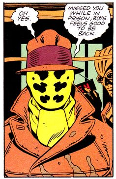 Rorschach's Back  Alan Moore Dave Gibbons WATCHMEN