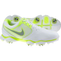 3f63bbd6bfeb Nike Men s Lunar Control II Golf Shoes - White Volt Silver Nike Men