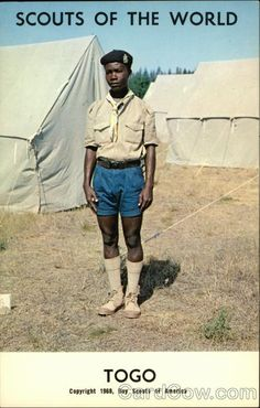 Scouts of the World: Togo Boy Scouts