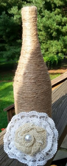 Check out this item in my Etsy shop https://www.etsy.com/listing/200905724/beautiful-burlap-and-lace-flower