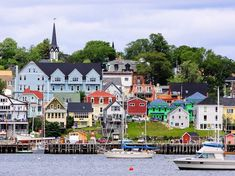 Lunenburg Lunenburg, Canada outdoor Boat water Town geographical feature scene neighbourhood residential area human settlement River vacation cityscape waterway vehicle Harbor Coast Village docked several Prince Edward Island, Anne Of Green Gables, Highlands, Canada Travel, Travel Usa, Lunenburg Nova Scotia, Lunenburg Canada, Nova Scotia Travel, Places To Travel