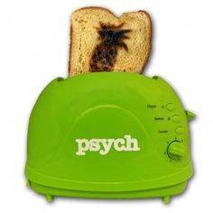 Psych toaster. It actually toasts a little pineapple on to your bread!!!!! ^_^