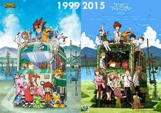 I don't even watch Digimon, but I thought this was cool.  The ad and the new eps.