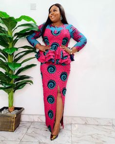 African Print Dress Designs, African Print Fashion, African Design, Ghana Fashion, Africa Fashion, African Lace Dresses, African Fashion Dresses, African Traditional Wedding, Plus Size Fashion For Women