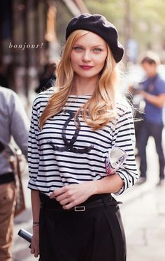 ~ Natasha Fatah ~: Inspiration for the week: Breton Stripes