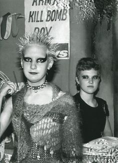 """superblackmarket:  Punks photographed by Sheila Rock, 1977   """