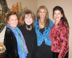 Christmas Possibili-Tea II (c) - Authors Laurie Wagner Jameson, Debra Gano & Mara Purl with sponsor Judy Ingels