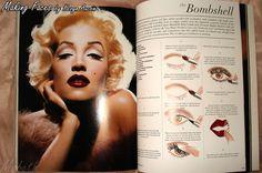 kevyn aucoin making faces - Google Search (Lisa Marie Presley as Marilyn Monroe)