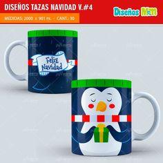 DISEÑOS PARA TAZAS DE NAVIDAD #4 Mugs, Tableware, Ballet, Personalized Mugs, Xmas, Supreme T Shirt, Amor, Painted Cups, Cute Mugs