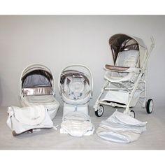 Trio Chicco Living blanco - Original Bebés