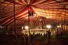 I'm not a fan of the modern day circus one bit but I have always been fascinated with old time big top tent circuses. Nocturne, Circus Aesthetic, Howleen Wolf, Circo Vintage, Water For Elephants, Catty Noir, Circus Theme, Circus Tents, Circus Clown